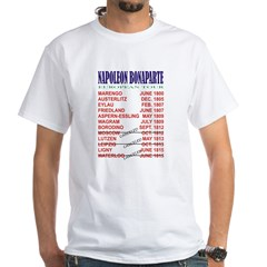 Napoleon_Tour White T-Shirt