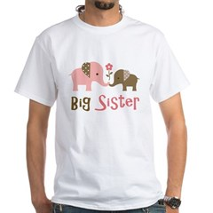 BSModElephant White T-Shirt