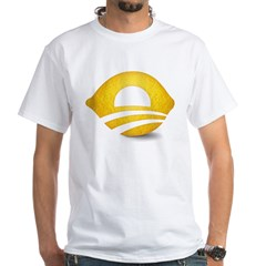 Lemon Presiden White T-Shirt