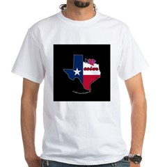 ILY Texas White T-Shirt