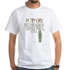 Pottery.dk White T-Shirt