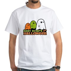 Baby Bump's 1st Halloween White T-Shirt