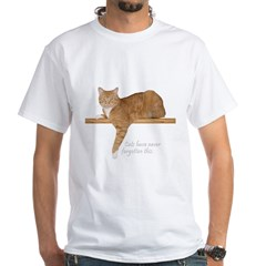 Orange Cat Ginger Kitty White T-Shirt