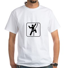 Welcome To Climbing! You Are White T-Shirt