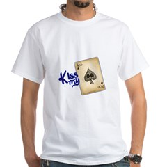 POKER White T-Shirt