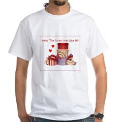 Red Hat White T-Shirt