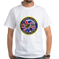 SPITFIRE w.UK flag White T-Shirt