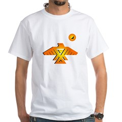 Anishinaabe tribal symbol White T-Shirt