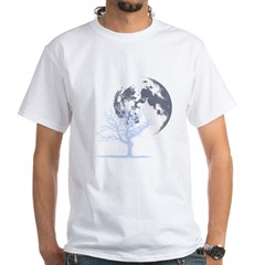 deadtree_NOTEXT_dark White T-Shirt