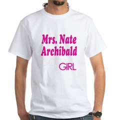 Mrs. Nate Archibald Gossip Girl White T-Shirt