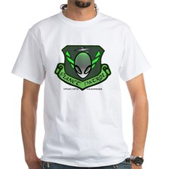 Planet Patrol White T-Shirt