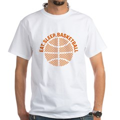 Basketball White T-Shirt