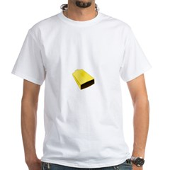 More Cowbell Fever White T-Shirt