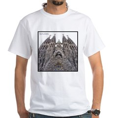 Barcelona Sagrada White T-Shirt