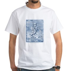 Mermaid & Merchild White T-Shirt
