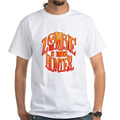 Zombie Hunter In Training White T-Shirt