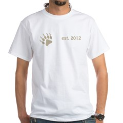 papa bear claw 2012_dark White T-Shirt