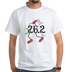 Holiday 26.2 Marathoner White T-Shirt