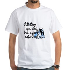 Laundry or Sale White T-Shirt