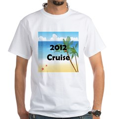 Cruise 2012 White T-Shirt