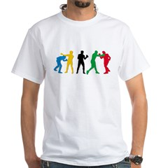 Boxing White T-Shirt