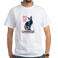 CHANGE - HCM Awareness White T-Shirt