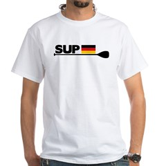 SUP GERMANY White T-Shirt