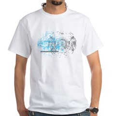 Particle Physics Gives Me A Large Hadron White T-Shirt