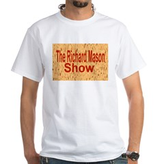 Richard Mason Show Logo White T-Shirt