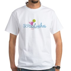 scraplushes White T-Shirt