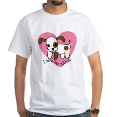 ilovemypitbull copy White T-Shirt