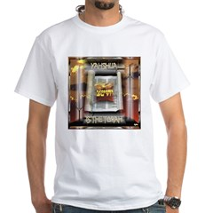 Yahshua is The Torah White T-Shirt