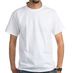 black jenius White T-Shirt