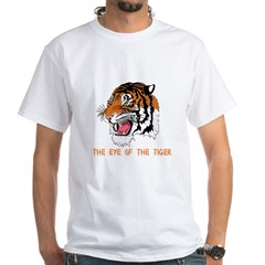 Eye of the tiger White T-Shirt