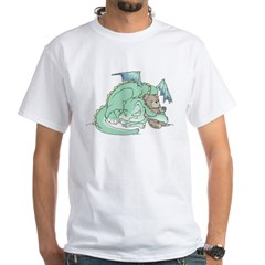 Baby Dragon White T-Shirt