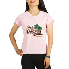 San Diego California Performance Dry T-Shirt