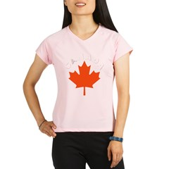Canadian Maple Leaf Performance Dry T-Shirt