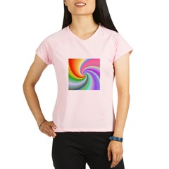 Rainbow Spiral Performance Dry T-Shirt