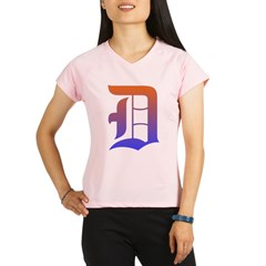 Olde English D Women's + Size Scoop Neck Dark Tee Performance Dry T-Shirt