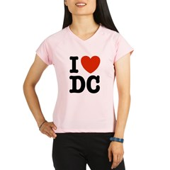 I Love DC Performance Dry T-Shirt