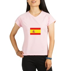 Spanish Flag Performance Dry T-Shirt