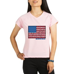 Flag Pledge of Allegiance Performance Dry T-Shirt