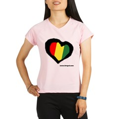 Rasta Hear Performance Dry T-Shirt