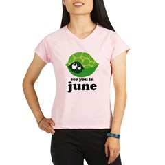 June Baby Due Date Performance Dry T-Shirt