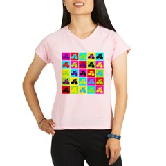 Pop Art Cyclist Performance Dry T-Shirt