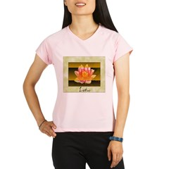 Good Morning Lotus Performance Dry T-Shirt