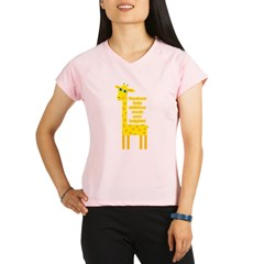 Cute Teacher Gif Performance Dry T-Shirt