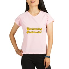 Retro Swimming In.. (Gold) Performance Dry T-Shirt