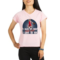 Hate to Lose Softball Performance Dry T-Shirt