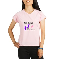 big sister little sister protector Performance Dry T-Shirt